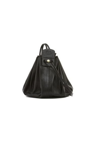 Cowhide Cross Body Bag (Nero)