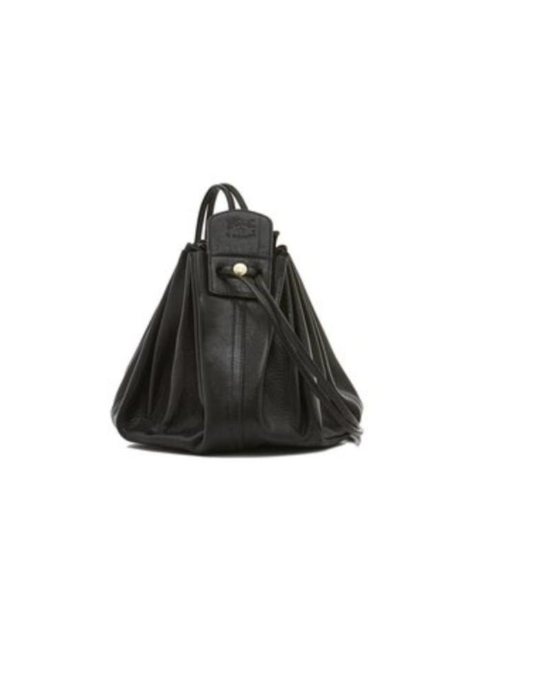 Cowhide Cross Body Bag (A0049.P)-Nero
