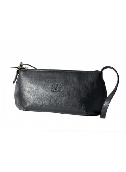 Cowhide Shoulder Bag (Nero)