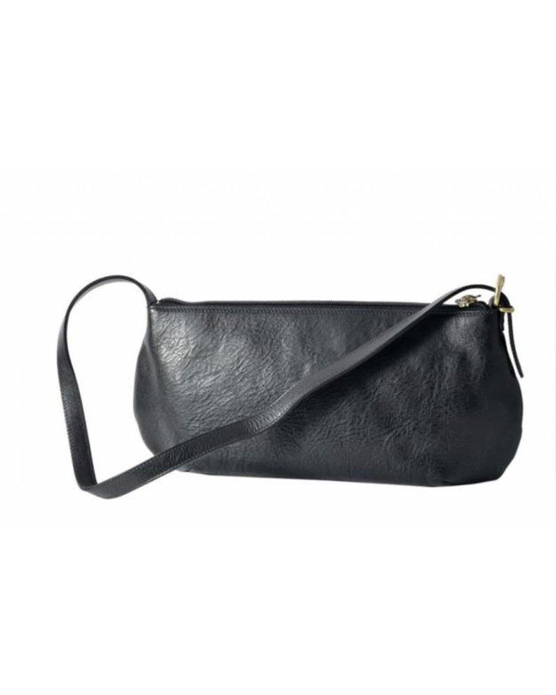 Cowhide Shoulder Bag (A1482/MP)-Nero