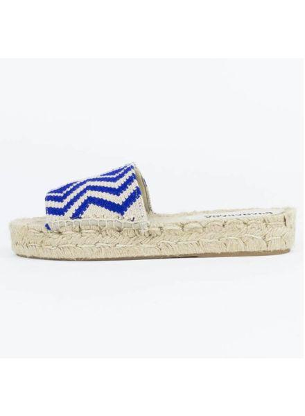 Espadrille Blue/ECRU Sandle