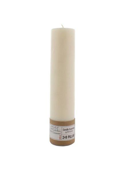 "Pillar Candle 2"" x 9"" - Ivory"