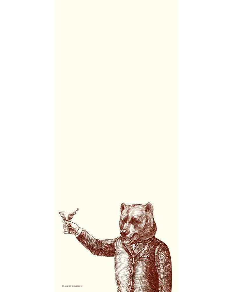 Boris (toasting bear) Long Pad