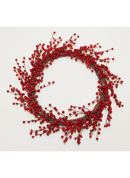 "22"" Red Berry Wreath"