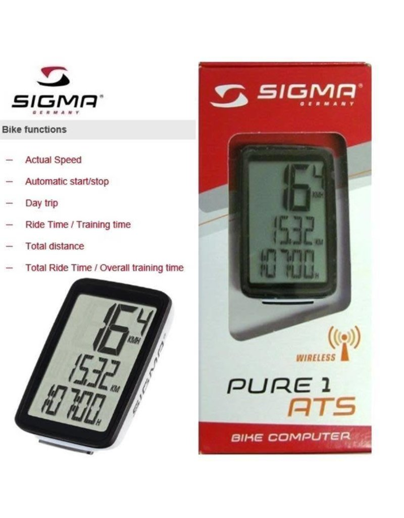 Sigma Pure 1 ATS Wireless Cycling Computer