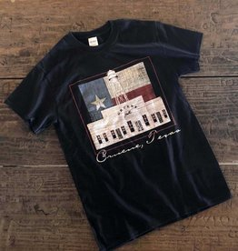 Gruene Hall Texas Flag Tee