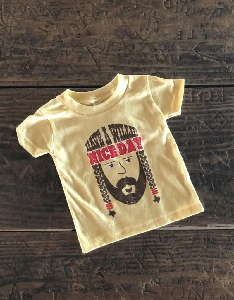 """""""Have a Willie Nice Day"""" Toddler Tee"""