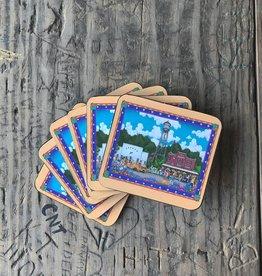 Gruene Town Coasters