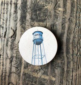 Gruene Water Tower Coaster