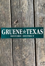 Gruene Texas Bumper Sticker
