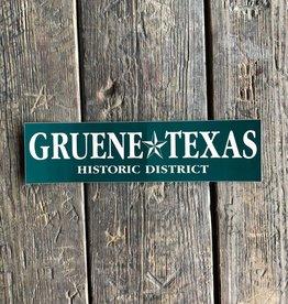 Gruene Texas Bumper Sticker
