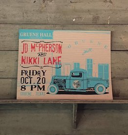 JD McPherson & Nikki Lane Poster
