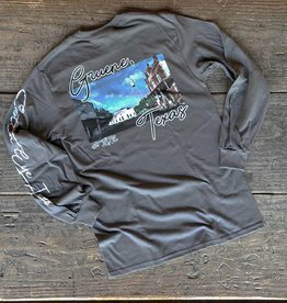 Gruene Scene Long Sleeve Tee