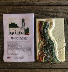 Gruene Hall Cross Stich Kit