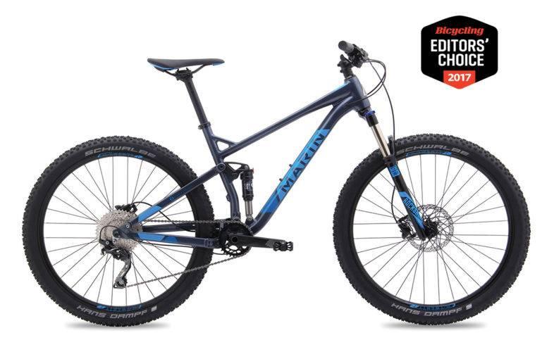Marin BICYCLE Marin Hawk Hill 2018 Black with Blue