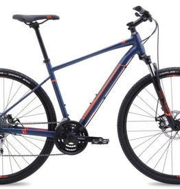 Marin BICYCLE Marin San Rafael DS2 2017 Satin Blue with Orange