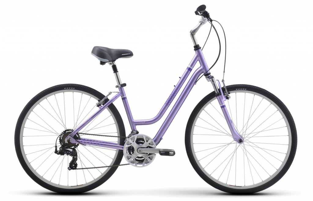 Diamondback BICYCLE RENTAL Diamondback Vital 2 Stepthrough 2016 Purple