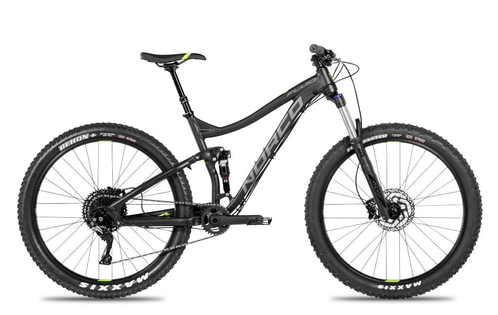NORCO BICYCLE Norco Fluid FS1+ 2018 Black