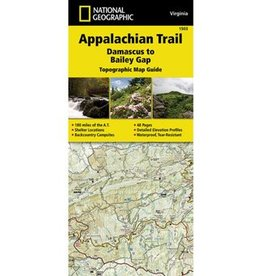 NATIONAL GEOGRAPHIC APP TRAIL- BAILEY GAP VA 1503