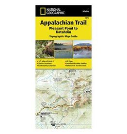 NATIONAL GEOGRAPHIC APP TRAIL- MT KATAHDIN ME 1513