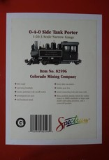 Bachmann Trains Bachmann 82596 0-4-0 side tank porter colorado mining co PRE-OWNED