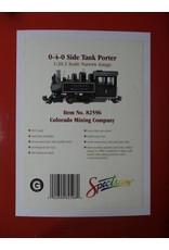 Bachmann Trains Bachmann 82596 0-4-0 side tank porter colorado mining co PRE-OWNED