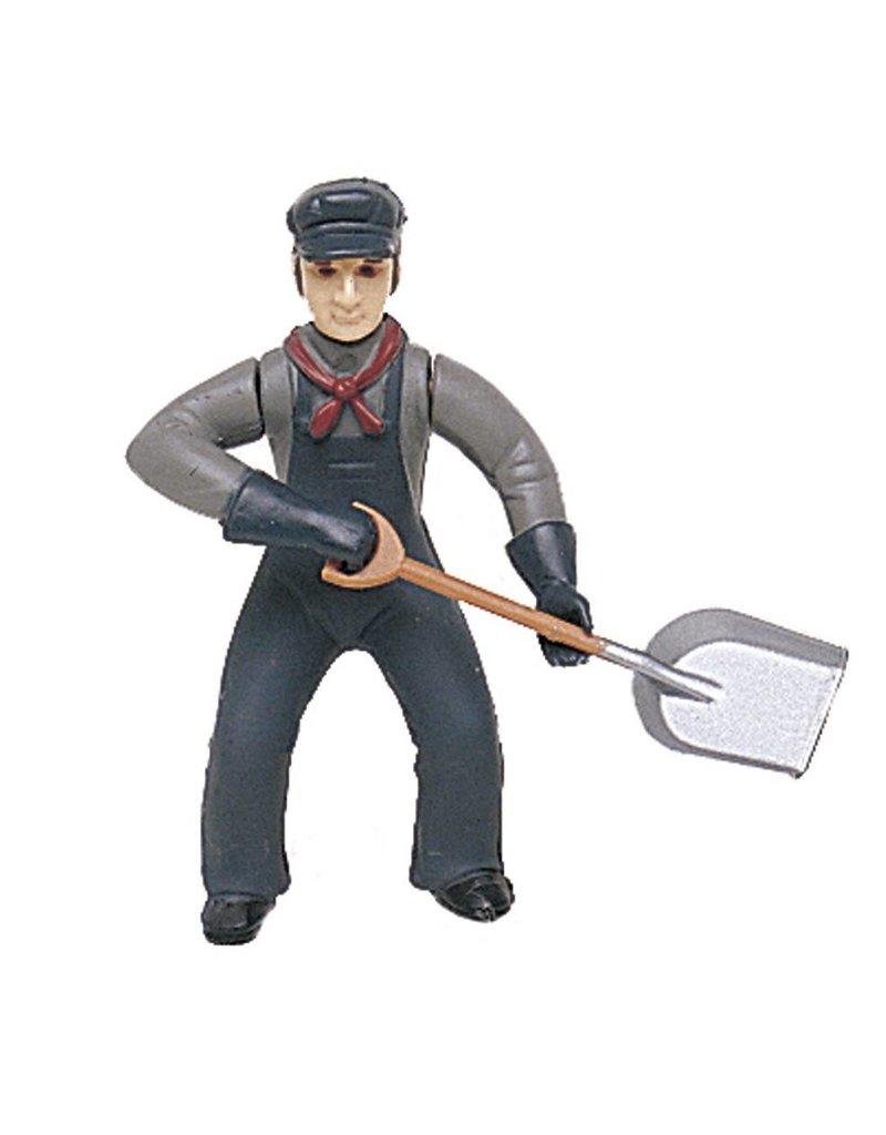 Bachmann Trains Bachmann 92316 fireman w/ shovel figurine