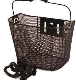 ALTAIR ALTAIR basket black mesh w/ handle 13.5X10X10""