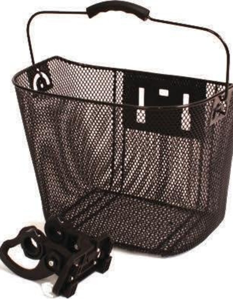 ALTAIR ALTAIR basket black mesh w/ handle 13.1/2X10X10