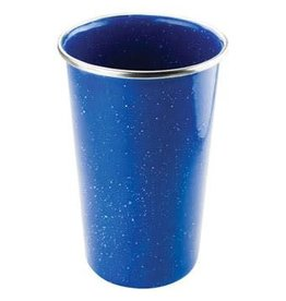 GSI TEXSPORT- ENAMEL PINT GLASS BLUE