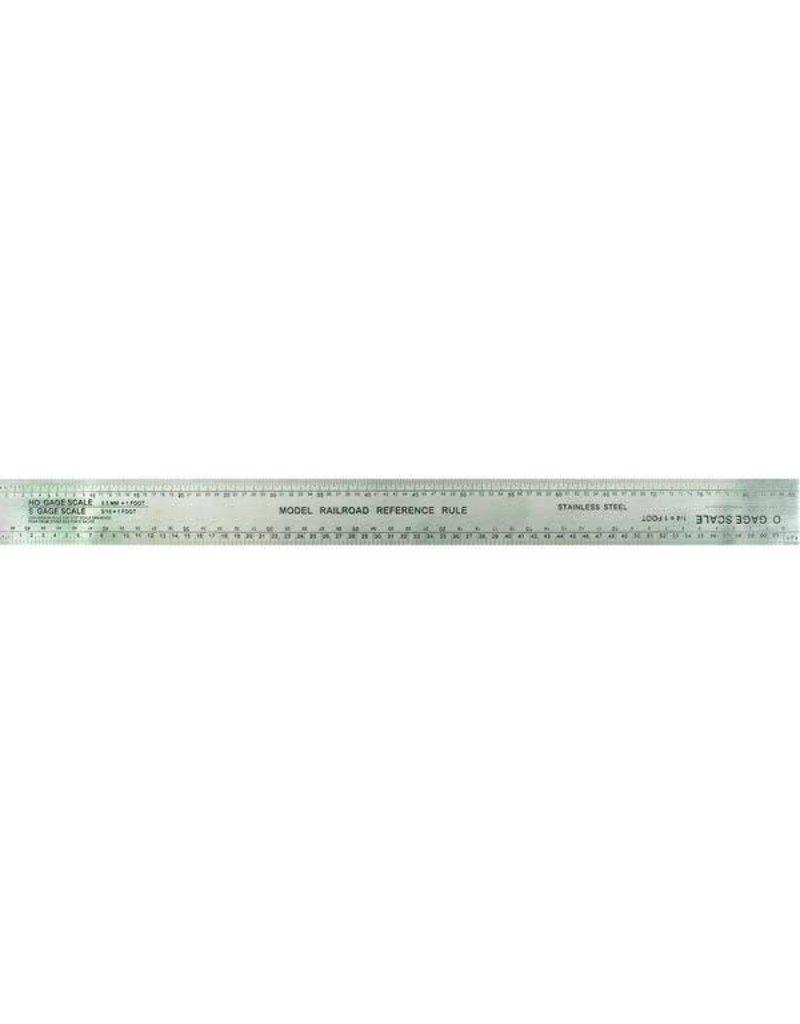 Excel Excel Scale Model Railroad Ruler