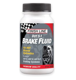 Finish Line FINISH LINE DOT 5.1 Disc Brake Fluid 4oz Bottle