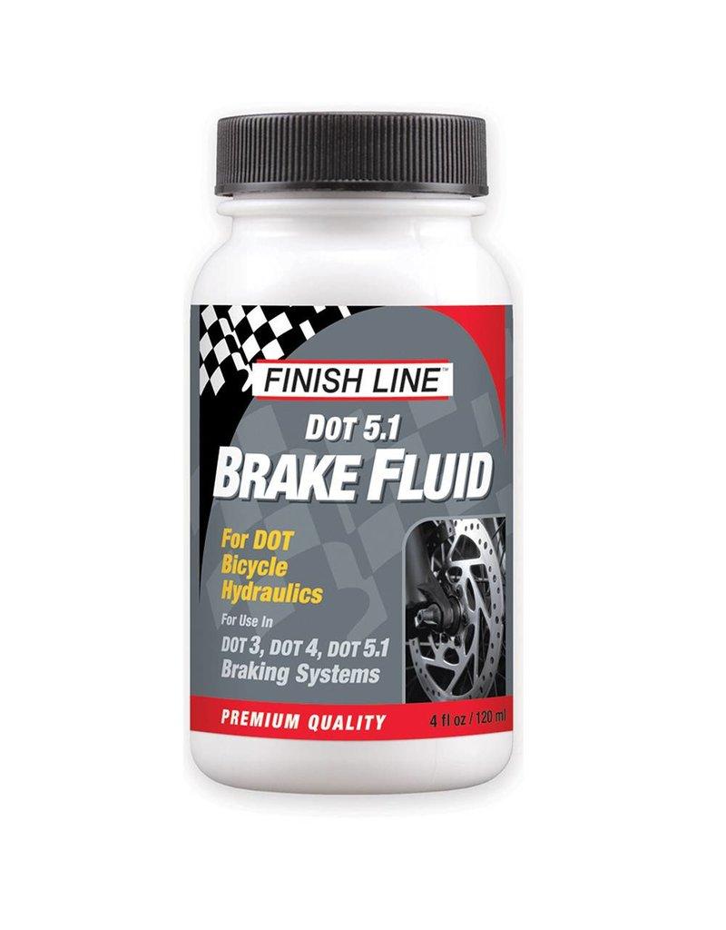Finish Line FINISH LINE DOT 5.1 Disc Brake Fluid 4oz Bottle