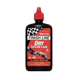 Finish Line FL Dry Teflon Chain Lube 4oz Squeeze Bottle