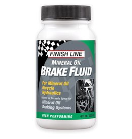 Finish Line FINISH LINE - Mineral Oil Disc Brake Fluid 4oz Bottle