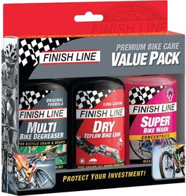 Finish Line FINISH LINE Premium Bike Care Value Pack
