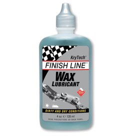 Finish Line FINISH LINE Wax Chain Lube 4oz Squeeze Bottle