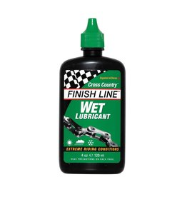 Finish Line FL Wet Chain Lube 4oz Squeeze Bottle
