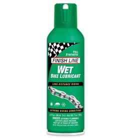 Finish Line FINISH LINE Wet Chain Lube 8oz Squeeze Bottle