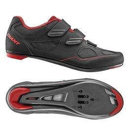 Giant GNT Bolt Road Shoe Nylon SPD/SPD SL Sole 42 Black/Silver