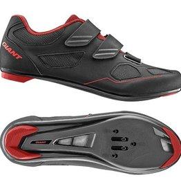Giant GNT Bolt Road Shoe Nylon SPD/SPD SL Sole 43 Black/Silver
