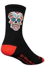 "SOCKGUY SOCK GUY- EL DIA 6"" CREW sock SM/MD"