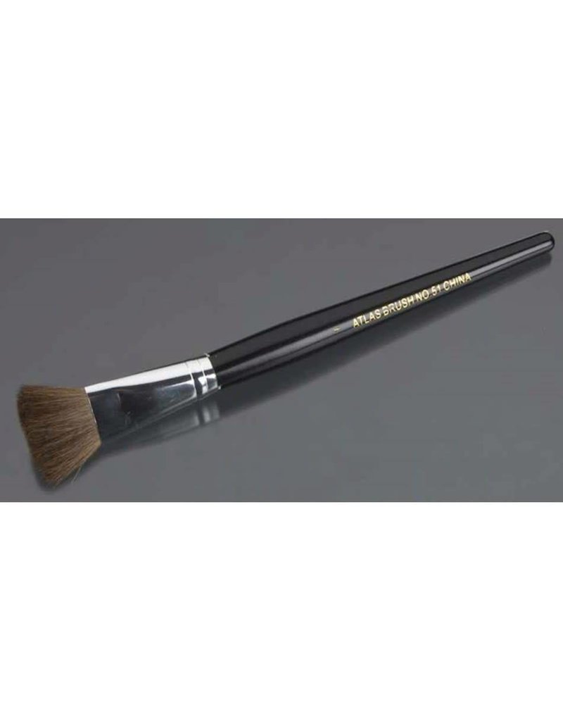 "Atlas Brush Company Atlas Brush 1"" Camel Hair Brush"