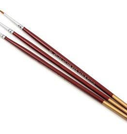 Atlas Brush Company Atlas Brush red sable paint brush