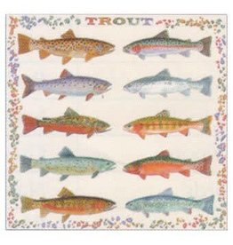 THE PRINTED IMAGE TROUT BANDANA