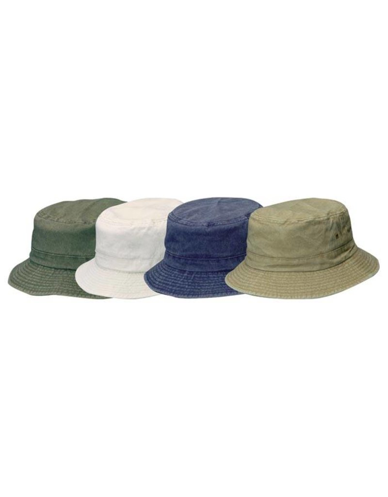 DORFMAN PACIFIC KIDS TWILL BUCKET HAT ASST