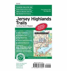 NY/NJ Trail Conference Jersey Highlands Trail Map