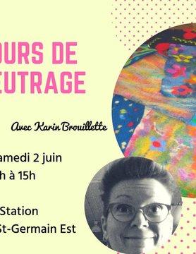 Cours de feutrage avec Karin Brouillette