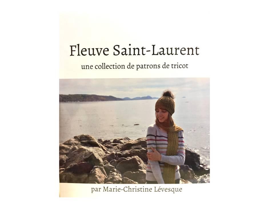 Fleuve St-Laurent -livre de tricot