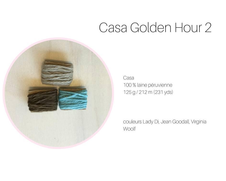 La Maison Tricotee Golden Hour Casa